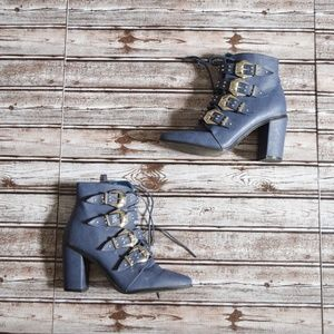Shoes - Military Buckled Boot